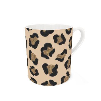 Leopard Print Coffee Mugs