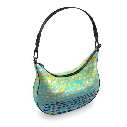 Textural Collection multicolored Curve Hobo Bag