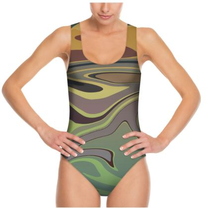 Swimsuit - Marble Rainbow 2