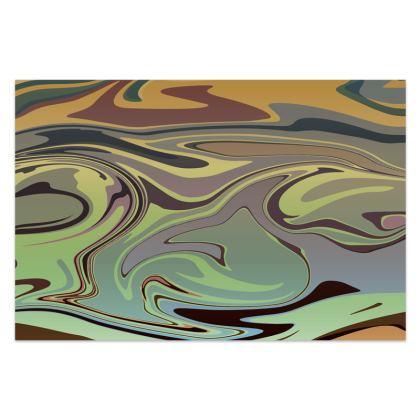 Sarong - Marble Rainbow 2