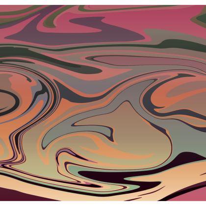 Strapless Swimsuit - Marble Rainbow 3