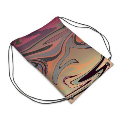 Swim Bag - Marble Rainbow 3