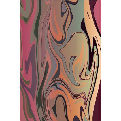 Towels - Marble Rainbow 3