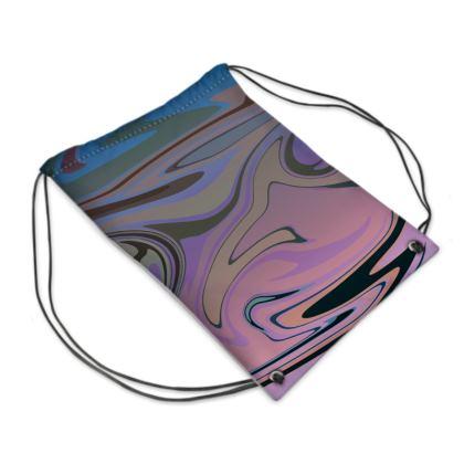 Swim Bag - Marble Rainbow 5