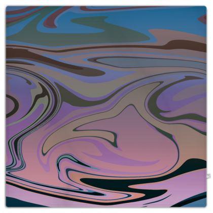 Picnic Blanket - Marble Rainbow 5