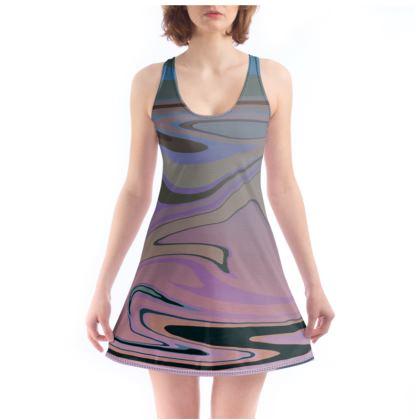 Beach Dress - Marble Rainbow 5