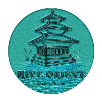 Rive Orient Logo Cushion