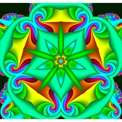 Ganja Mandala Cushion/Throw-Pillow