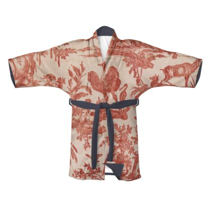 Traditional Silk Kimono The Four Parts of the World