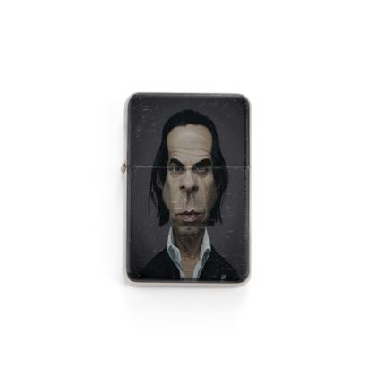 Nick Cave Celebrity Caricature Lighter