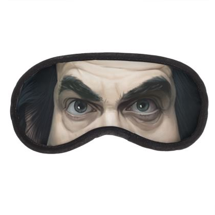 Nick Cave Celebrity Caricature Eye Mask