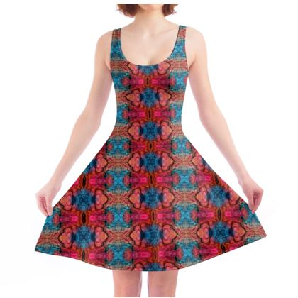 On The Shoulders of Giants Skater Dress