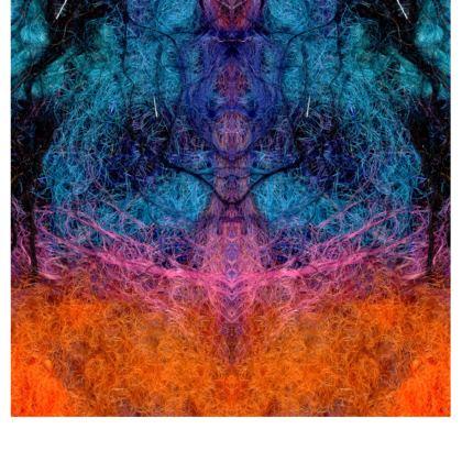 Shaman Vision Flared Skirt