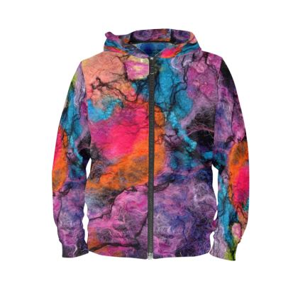 Bright Nebula Unisex Hoodies