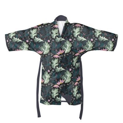 "The Secret Garden  - ""Forest"" Kimono"