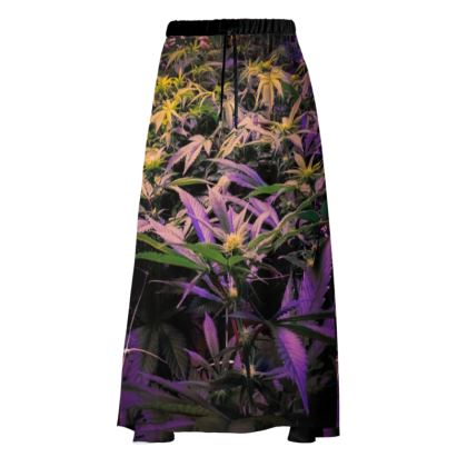 Colorful Indoor Cannabis Skirt