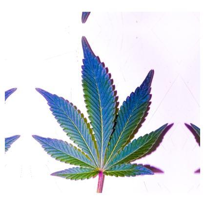 Colorful cannabis leaf t-shirt