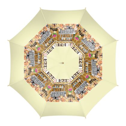 Regenschirm - Design Grünstadt