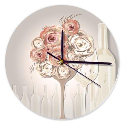 Clock - Klocka - Wine Beige