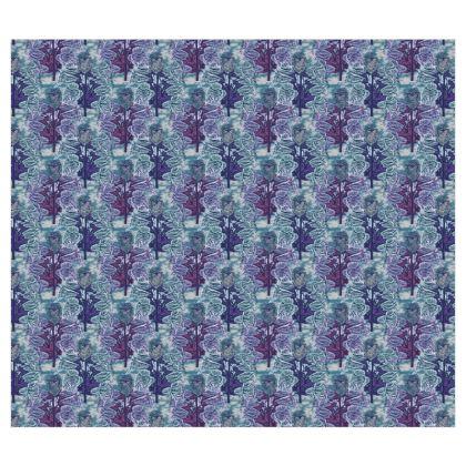 Blue Roller Blinds  Foxglove  Deep Ocean