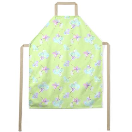 Green Aprons  My Sweet Pea  New Lime