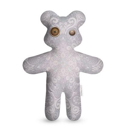 Wrong Button Teddy Bear