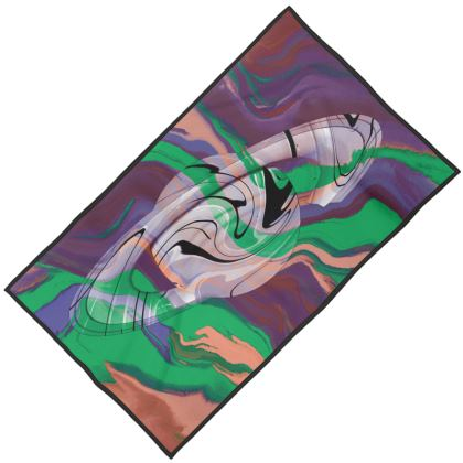 Towels - Colours of Saturn Marble Pattern 2