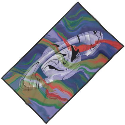 Towels - Colours of Saturn Marble Pattern 4