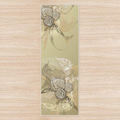 Yoga Mat - Yogamatta - 50 shades of lace gold