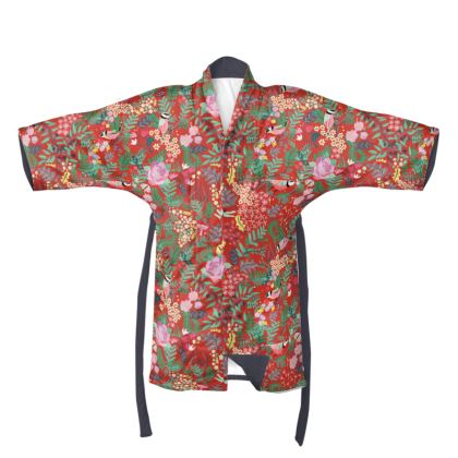 The Secret Garden - Red Kimono