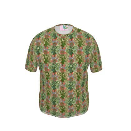 Mens Cut And Sew T-Shirt  Foxglove  Fairground
