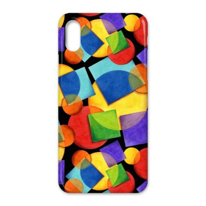 Candy Rainbow iPhone X Case