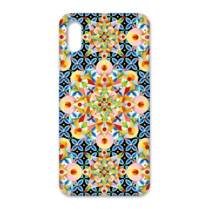 Pastel Mandala iPhone X Case