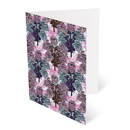 Pink, Teal Occasions Cards  Foxglove  Shortcake