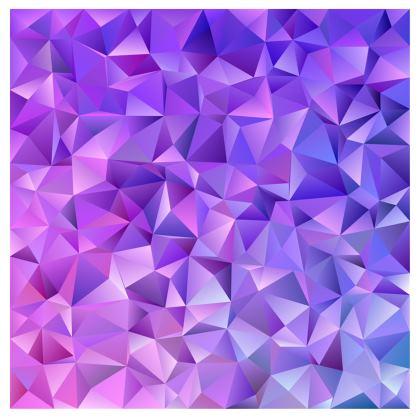 Kimono - Purple Prisms