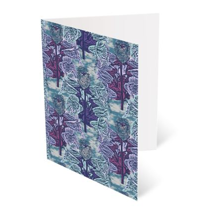 Blue, Teal  Occasions Cards [Birthday shown]  Foxglove  Deep Ocean