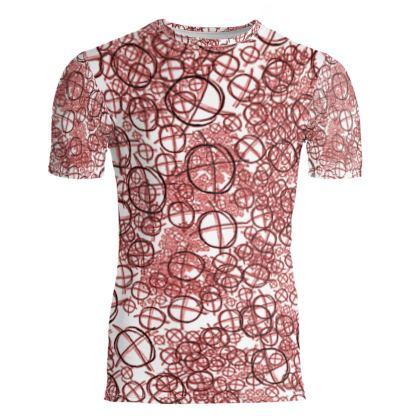 Slim Fit Mens T-Shirt - Operator Symbol
