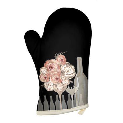 Oven Glove - Grytvante - Wine black