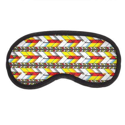 Eye Mask Tribal Pattern