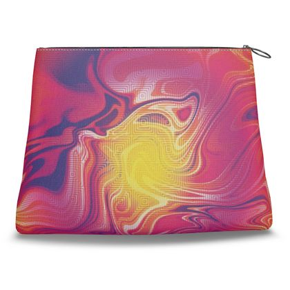 Clutch Bag - Eye of the Marble Sun 1