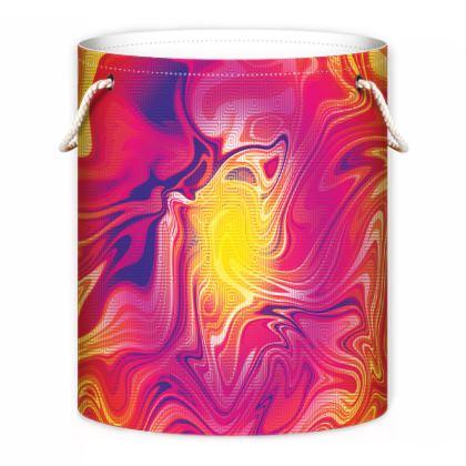 Laundry Bag - Eye of the Marble Sun 1