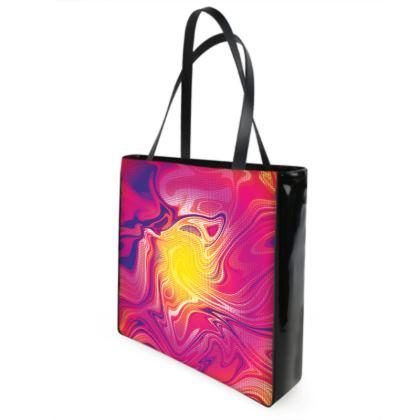 Shopper Bags - Eye of the Marble Sun 1