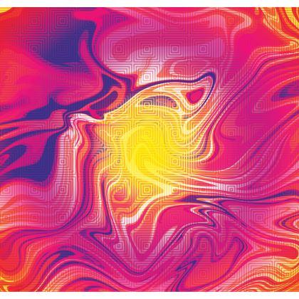 Shoulder Bag - Eye of the Marble Sun 1