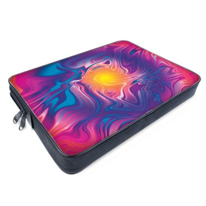 Laptop Bags - Eye of the Marble Sun 2