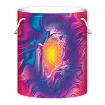 Laundry Bag - Eye of the Marble Sun 2