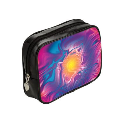 Make Up Bags - Eye of the Marble Sun 2