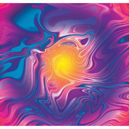 Shoulder Bag - Eye of the Marble Sun 2