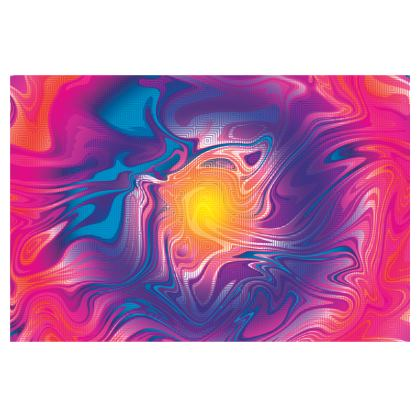 Mens Wallet - Eye of the Marble Sun 2