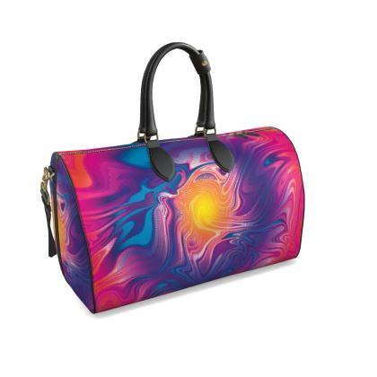 Duffle Bag - Eye of the Marble Sun 2