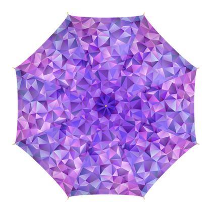 Umbrella - Purple Prisms